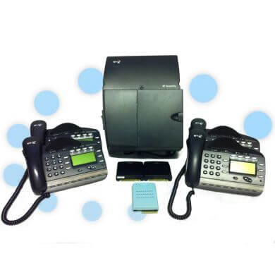 BT Versatility Analogue Phone System with 4 Digital Handsets