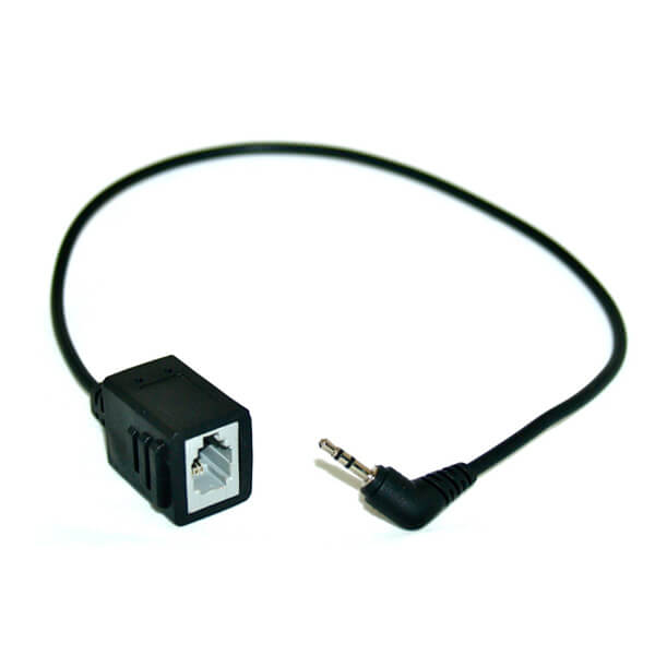 2.5mm to RJ9 Converter Lead
