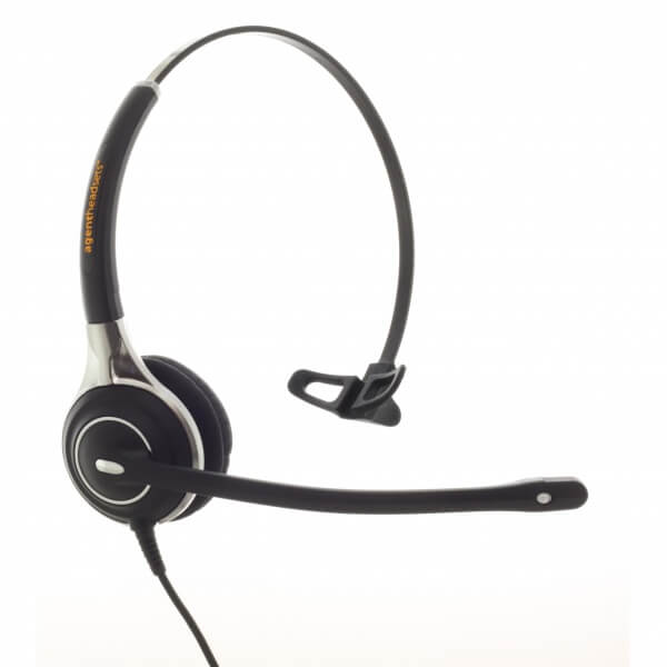 Agent AG-1 Monaural UC Noise Cancelling Headset PLX QD