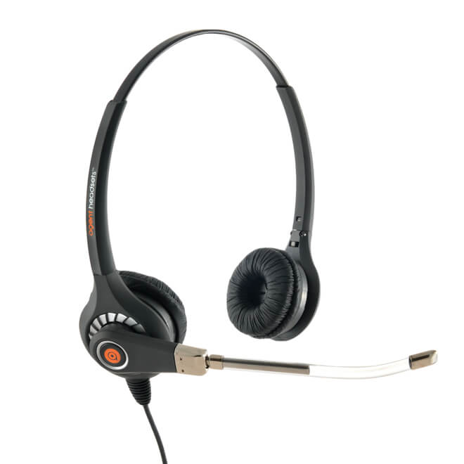 Agent 600 Binaural Voice Tube Headset