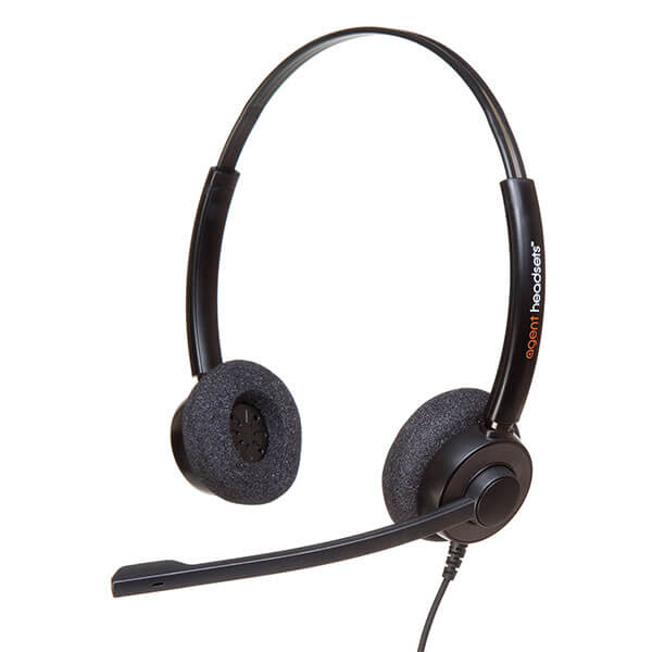 Agent 450 Duo Noise Cancelling Headset - PLX QD