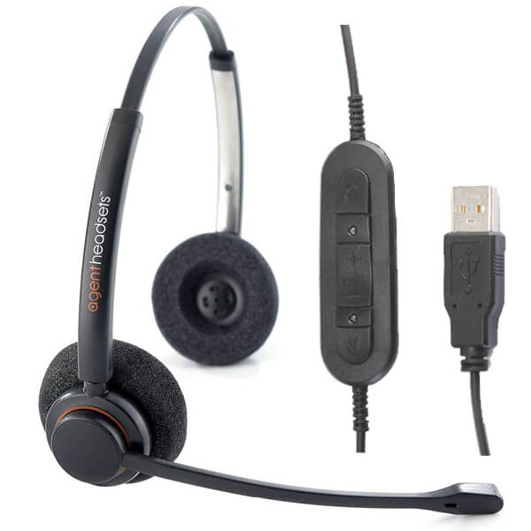 Agent AP-2 Binaural USB MS PC Headset