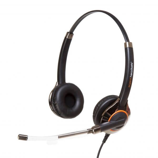 Agent 650 PLUS Duo Voicetube Headset - PLX QD