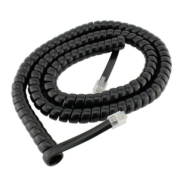 Avaya 1603 Replacement Curly Cord
