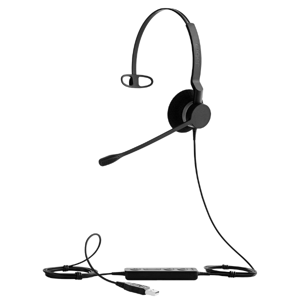 Jabra BIZ 2300 USB Mono MS Lync Corded PC Headset