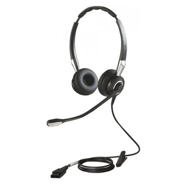 Jabra BIZ 2400 II Duo Corded Headset and GN1200 Smart Cord