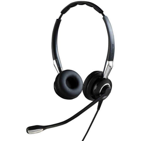 Jabra BIZ 2400 II USB Duo Headset for Dragon Dictate