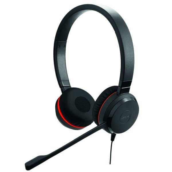 Jabra Evolve 30 II UC Duo Headset for Dragon Dictate