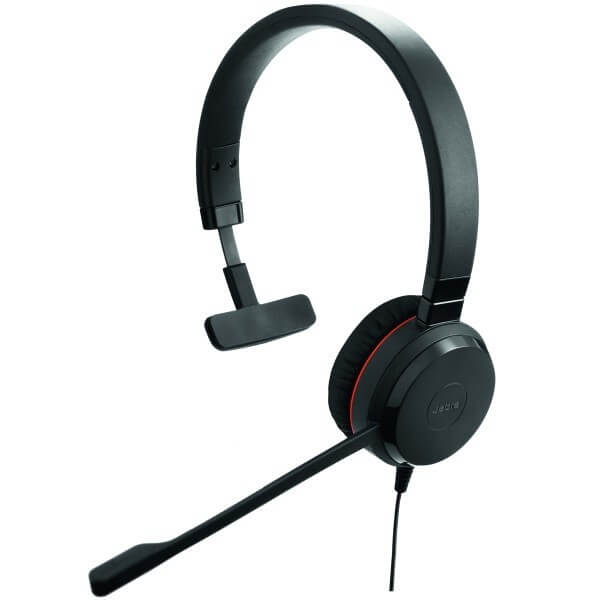 Jabra Evolve 30 II UC Mono Headset for Dragon Dictate