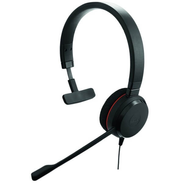 Jabra Evolve 20 MS Mono Corded USB Headset