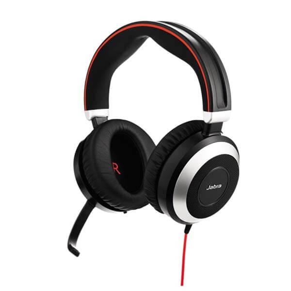 Jabra Evolve 80 Stereo Headset For Mobiles