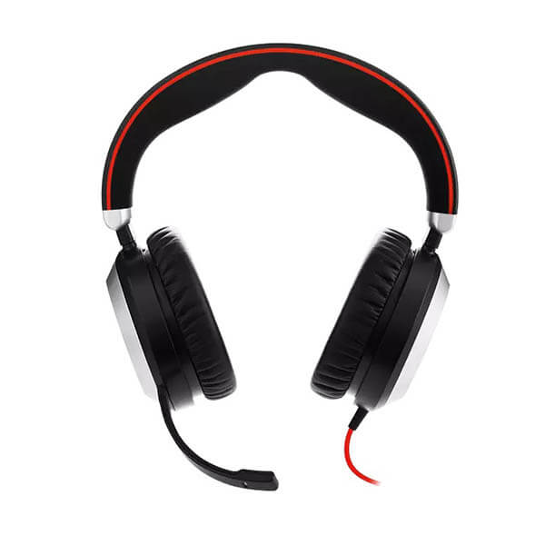 Jabra Evolve 80 UC Stereo Corded PC Headset