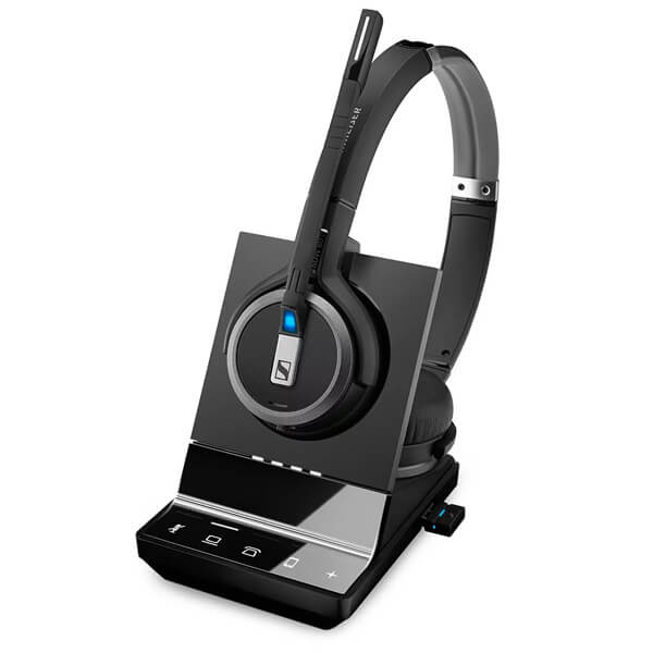Sennheiser SDW 5066 Binaural DECT Headset UK with Triple Connection