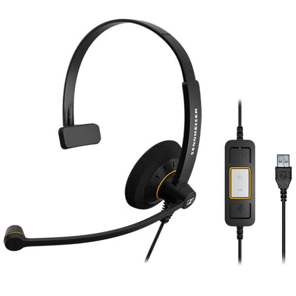Sennheiser SC 30 USB CTRL ML Mono PC Headset