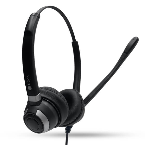 Vega Office Premium Binaural Corded QD Headset