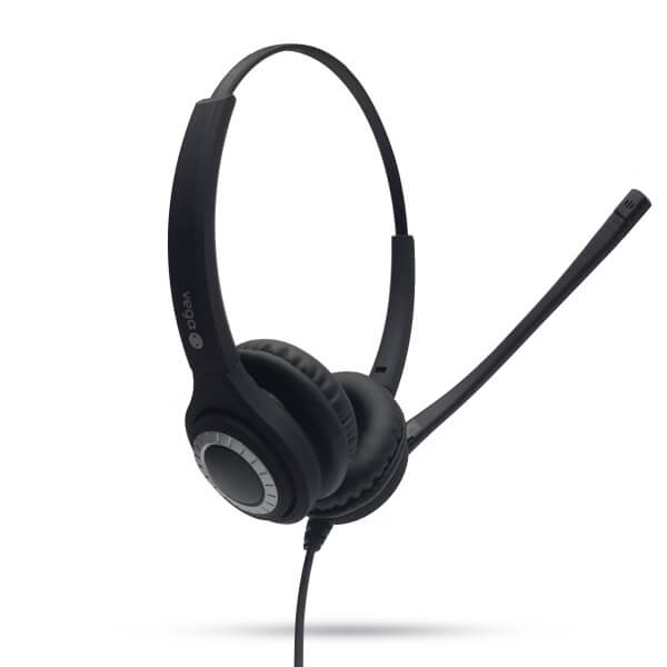 Vega Pro Advanced Binaural Noise Cancelling Office Headset