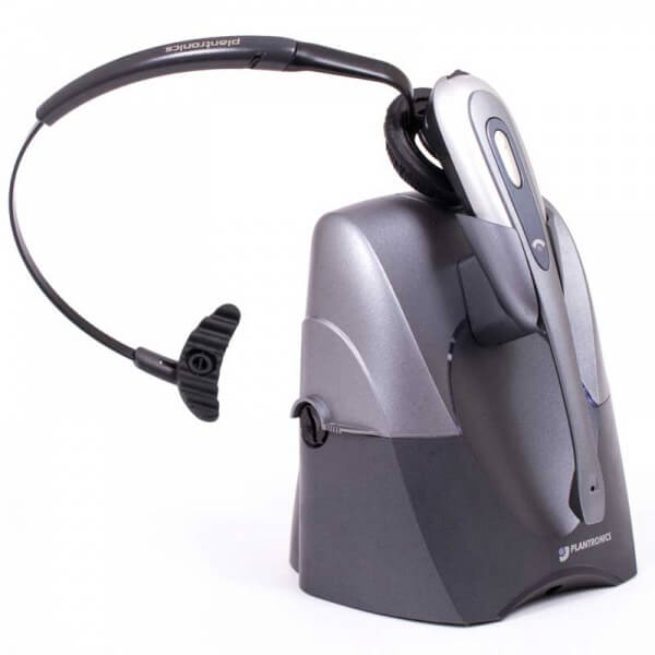 Alcatel 4039 Cordless Plantronics Headset