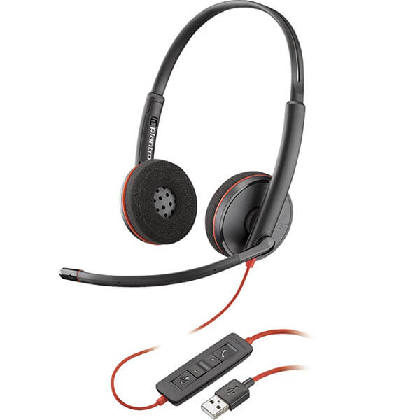 Plantronics Blackwire c3220 Stereo USB Headset