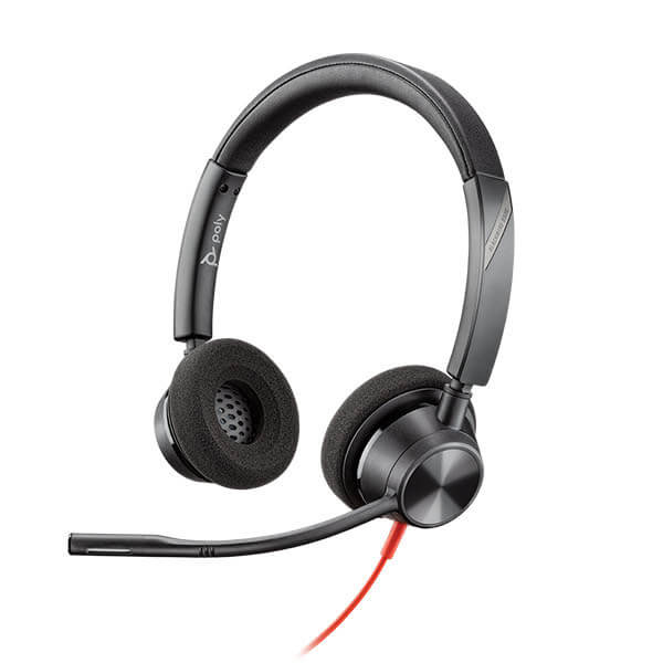 Plantronics Blackwire 3320 Duo USB PC Headset