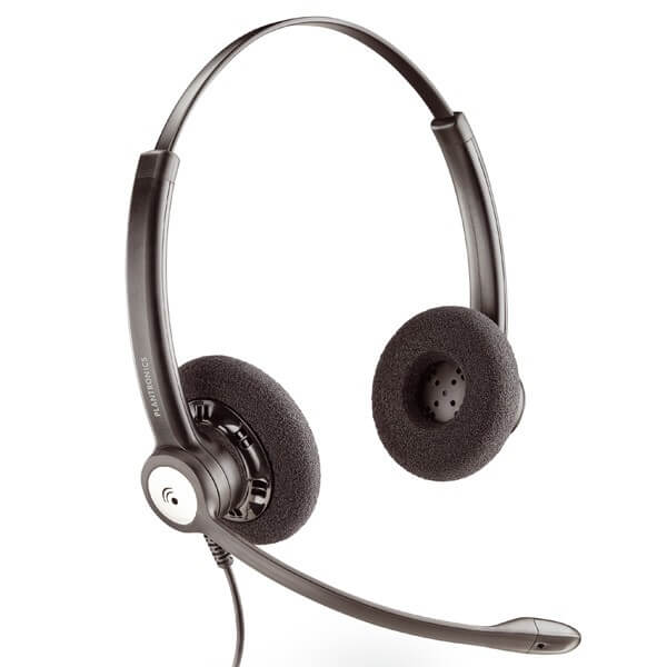Plantronics HW121N Double Ear Corded Headset