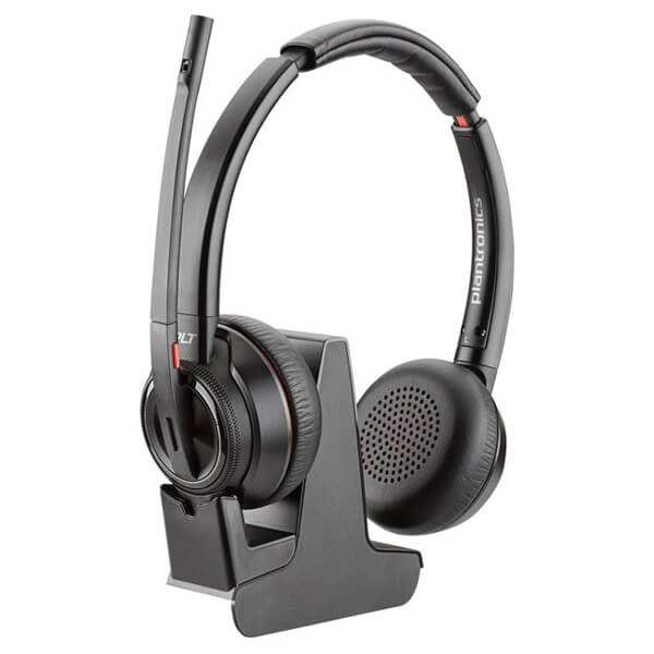 Plantronics Savi 8220 Replacement Headset and Charging Cradle