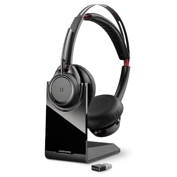 Plantronics Voyager Focus UC B825 With Charging Base