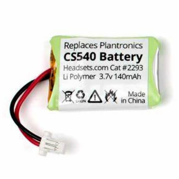Plantronics CS540 Replacement Headset Battery