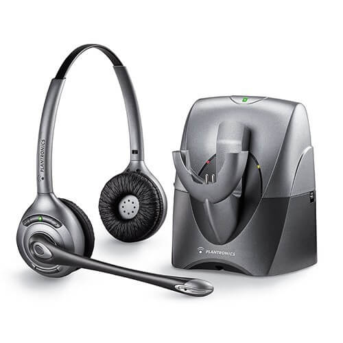Plantronics Cordless CS361N Headset and Lifter