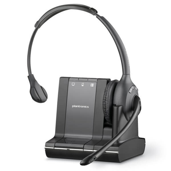 Plantronics Savi Office W710 Cordless USB Headset for Dragon Dictate