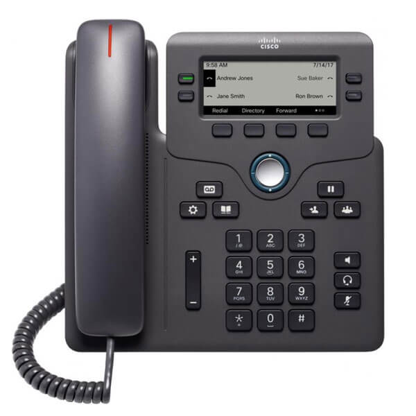 Cisco 6851 SIP VoIP Telephone