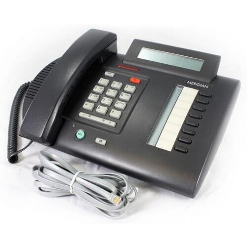 Meridian Norstar M3310 Telephone Handset in Black (Fully