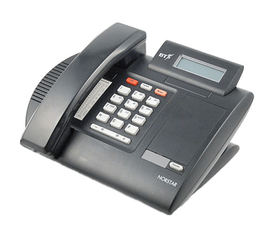 Meridian M7100N Telephone in Charcoal Black