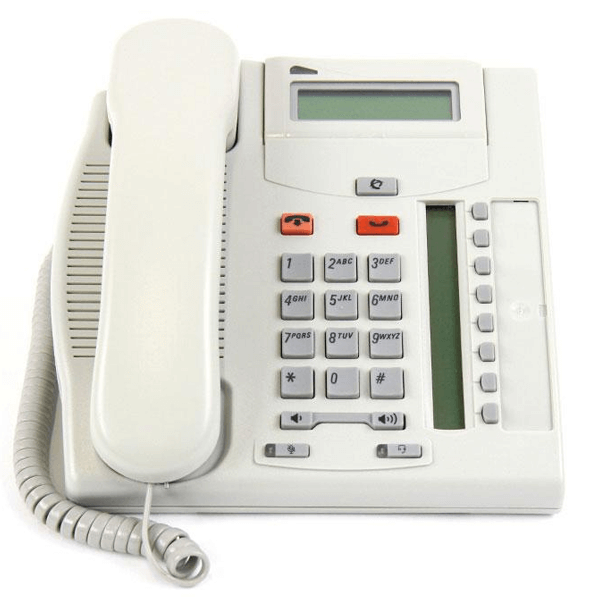 Meridian Norstar T7208 Telephone in Platinum