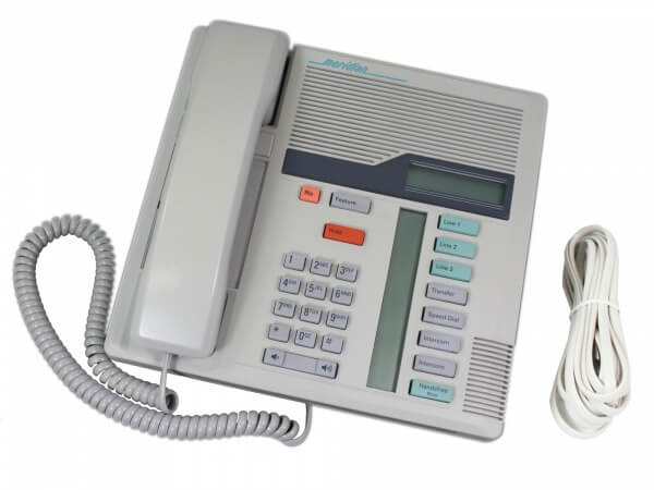 Meridian Norstar M7208 Telephone in Dolphin Grey