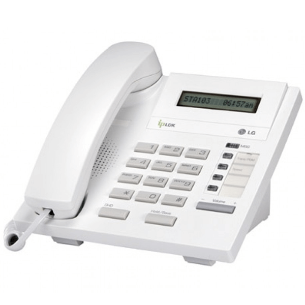 LG LDP-7004D Telephone in White with LCD Display