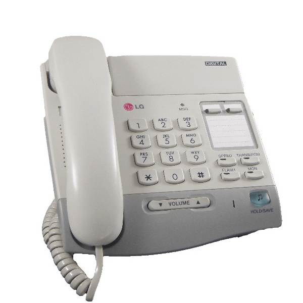 LG LKD-2NS Telephone in White