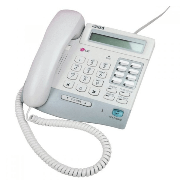 LG LKD-8DS Telephone in White