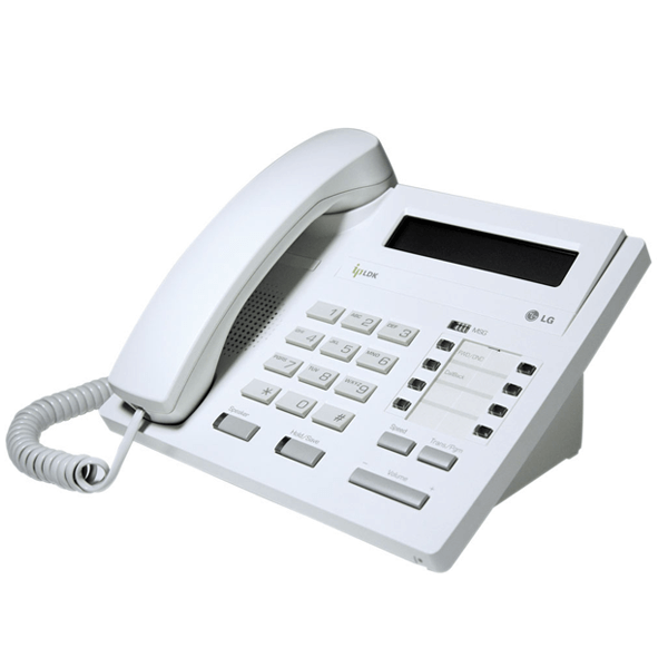 LG LDP-7008D Telephone in White with LCD Display