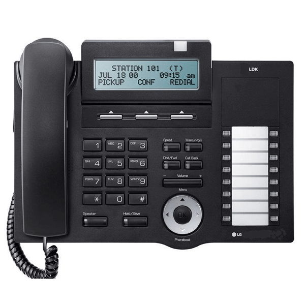 LG LDP-7016D Telephone in Black with LCD Display