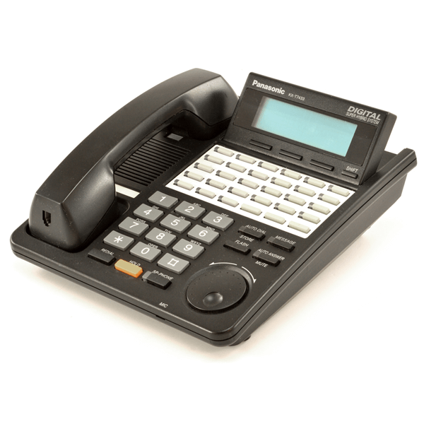 Panasonic KX-T7433 Telephone in Black