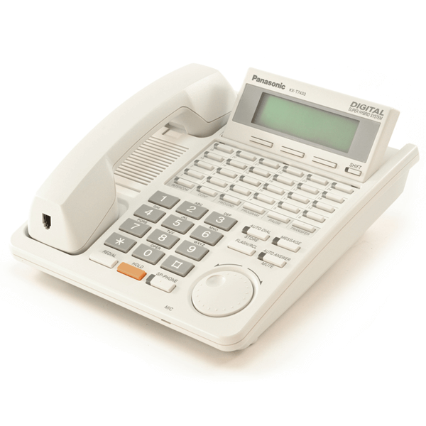 Panasonic KX-T7433 Telephone in White