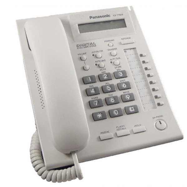 Panasonic KX-T7668 Telephone in White
