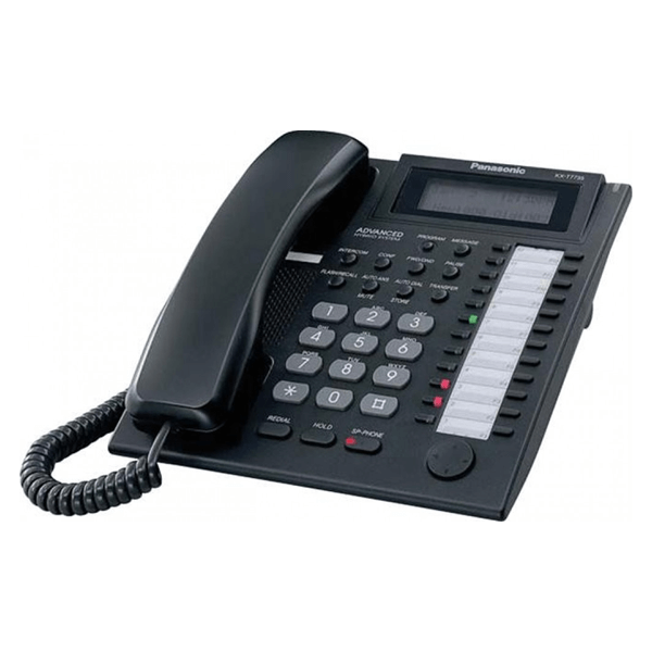 Panasonic KX-T7735EB Telephone in Black
