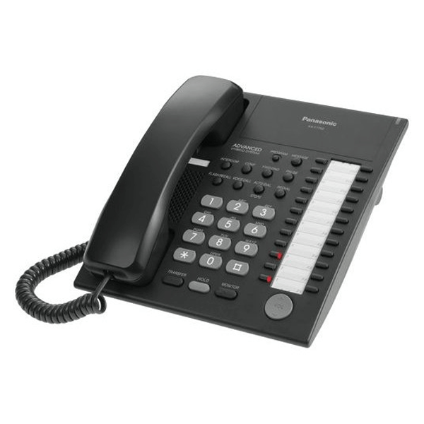 Panasonic KX-T7750EB Telephone in Black