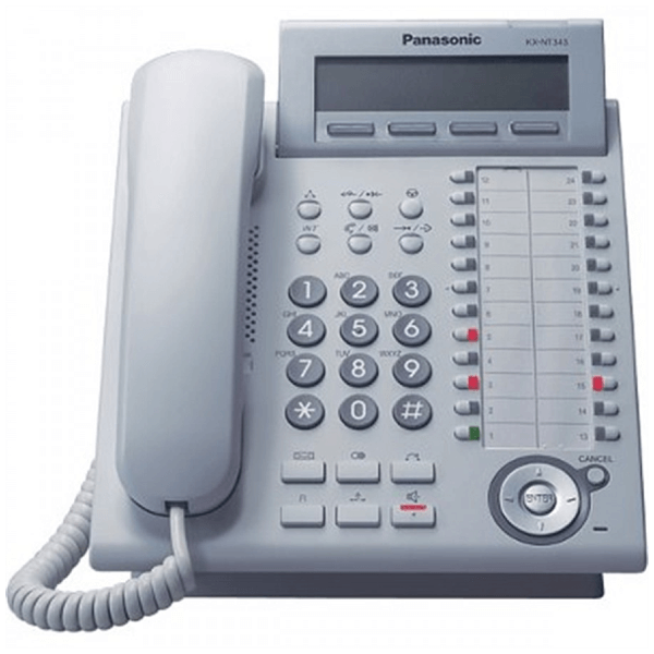 Panasonic KX-DT343 Telephone in White