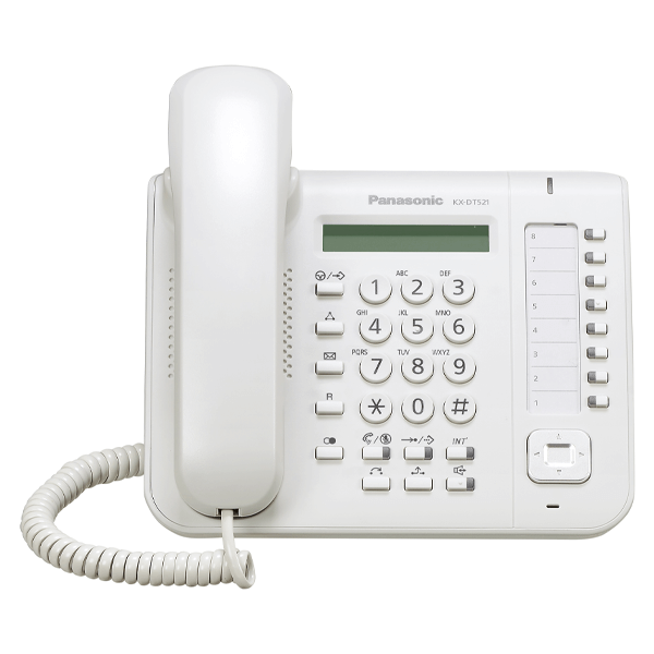 Panasonic KX-DT521 Telephone in White