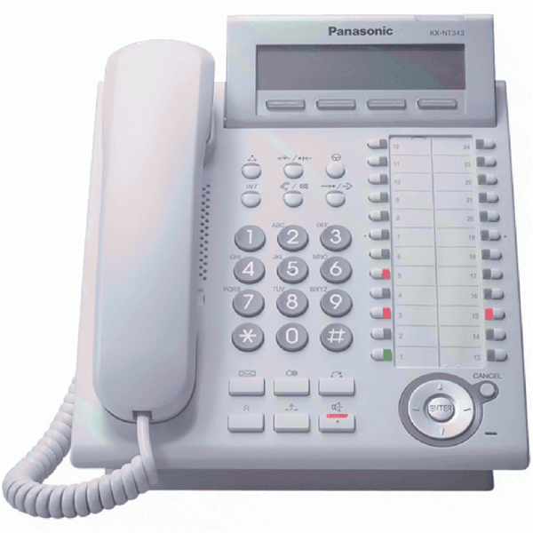 Panasonic KX-NT343 IP Telephone in White
