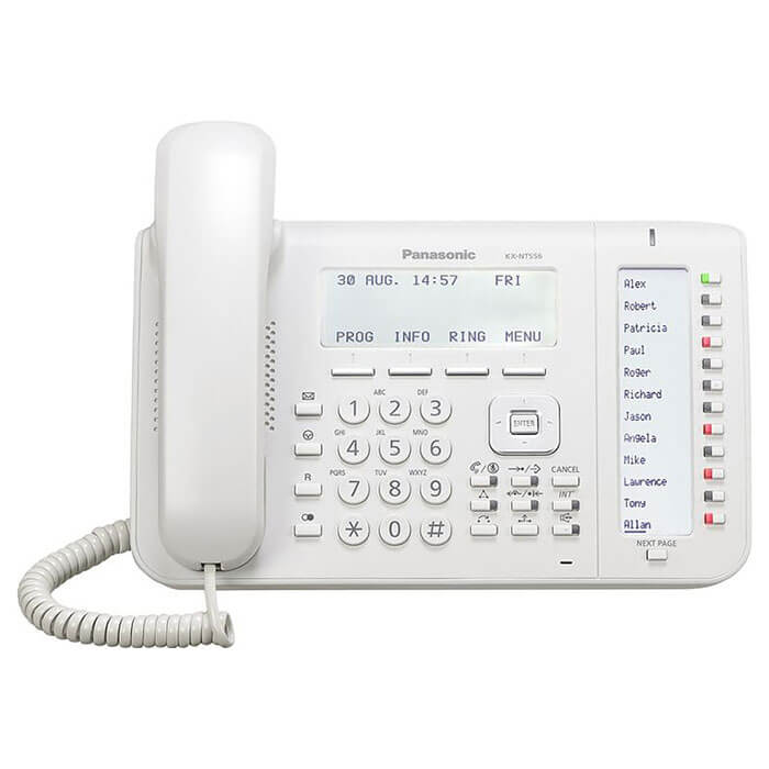Panasonic KX-NT556 Telephone in White