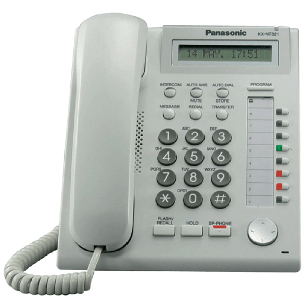 Panasonic KX-NT321 IP Telephone in White