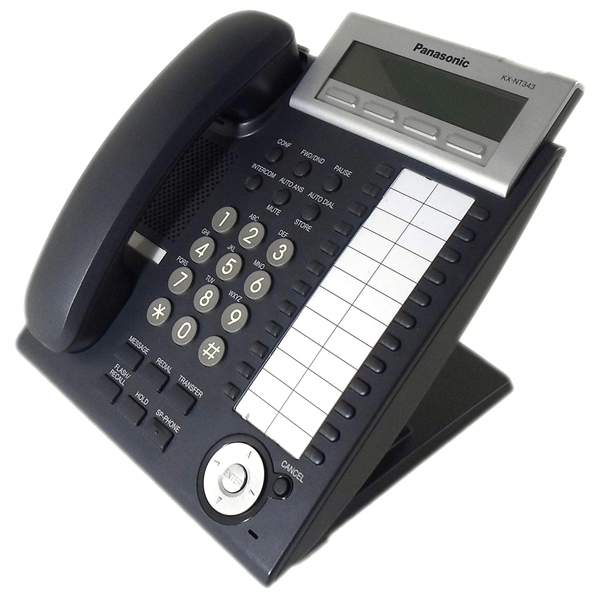 Panasonic KX-NT343 IP Telephone in Black